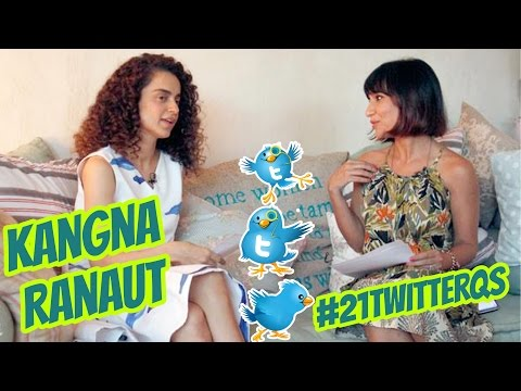 Kangana Ranaut Answers YOUR 21 Twitter Questions!