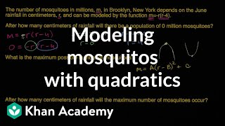 Modeling Mosquitos With Quadratics