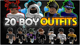 TOP 20 BEST ROBLOX BOY OUTFITS OF 2020🔥😱  (FAN Outfits) 🎉