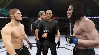 Khabib vs. Wolfman (EA Sports UFC 2)