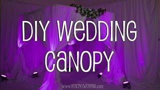 How To Setup A DIY Wedding Canopy Or Chuppah