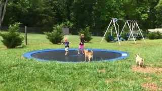 DIY In-Ground Trampoline