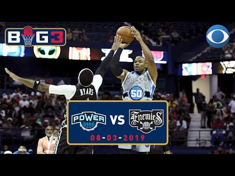 Corey Maggette and Power FLEX on the Enemies | Big3 Highlights | CBS Sports