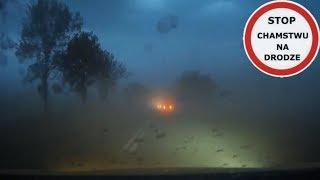 Burza piaskowa koło Świebodzina zaskoczyła kierowców  #135 Wasze Filmy