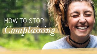 7-Day Mindset Challenge: Stop Complaining! | Jack Canfield