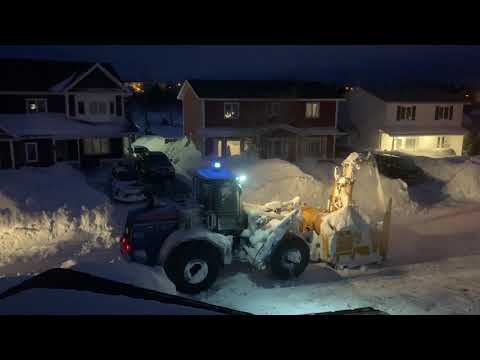 Now That's a Snowblower! Newfoundland Snowstorm 2020