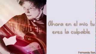 Open your ears Ed Sheeran en español