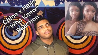 Chloe X Halle   Who Knew (Reaction)