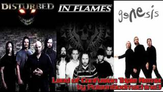 Disturbed + In Flames + Genesis - Land of Confusion (triple mix)