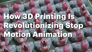 La Impresión 3D revoluciona al Stop Motion