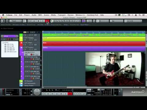 Cubase 103: EngineersProducers Toolbox  – 19. Recording the Guitar Tracks