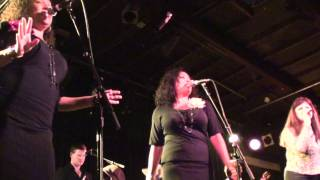 Basia Trzetrzelewska DRUNK ON LOVE 9/27/2011 live @ the Coach House SJC  (front row)