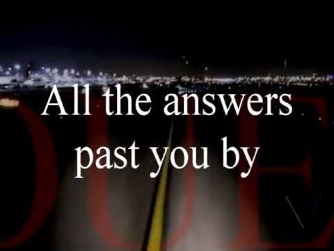 All The Answers (lyrics)