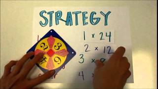 How to Play the 24 Math Game