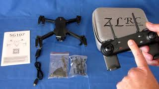 ZLRC SG107 Beginners FPV Camera Drone Flight Test Review