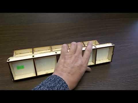 Ящичек - органайзер для мелочи - видеообзор