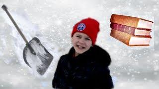 Как Коля НЕ ХОТЕЛ  САМ ЧИСТИТЬ снег  Весёлый пранк над друзьями