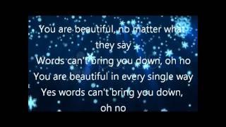 china anne mcclain beautiful lyrics