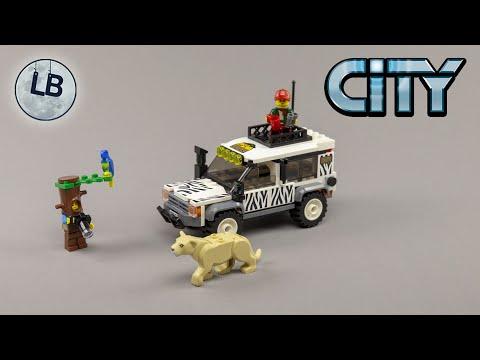 Vidéo LEGO City 60267 : Le 4x4 Safari