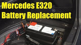 Mercedes E320 Battery Replacement - The Battery Shop