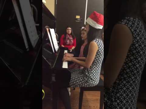 Deck the Halls at Christmas 2016 student recital
