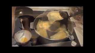 Тухум-барак (яичные пельмени). Egg pel