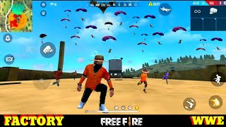 No Internet - FACTORY FIST FIGHT - FREE FIRE CHALLENGE FACTORY ANTINA/ FF FUNNY GAMEPLAY