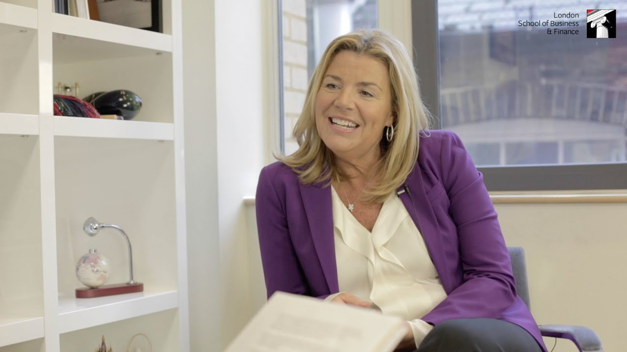 Video: Great Minds Series - LSBF interviews Marriott Hotels Europe CEO Amy McPherson