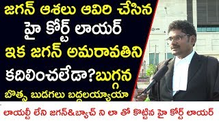 High Court lawyer Fires On Ap Cm Ys Jagan & Protest High power Committee Report about 3 Capitals |
