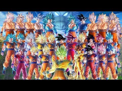 DBXV2 : Mod Goku (28 Transformations)