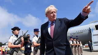 video: Boris Johnson will not want 'to go down in history as 'Mr No Deal', Donald Tusk says ahead of G7
