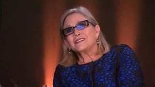 Carrie Fisher Hints at 'Sibling Rivalry' Between Luke and Leia in 'The Force Awakens'