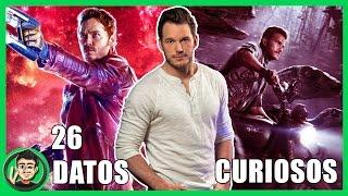 26 Curiosidades Que NO CONOCIAS Sobre Chris Pratt (Guardianes De La Galaxia) | ZomByte