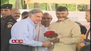 CM Chandrababu Naidu Lays Foundation Stone For Cancer Institute in Tirupati | Ratan Tata