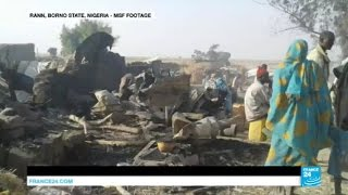 Nigeria: At least 52 killed as war plane mistakenly bombs a refugee camp