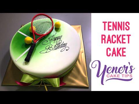 Как из мастики сделать теннисную ракетку