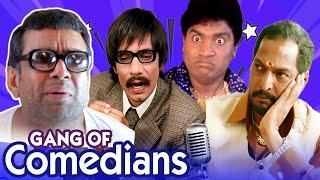 Best of Bollywood Comedy Scenes Gang of Comedians   Phir Hera Pheri - Welcome - Dhamaal - Masti