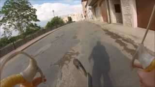 preview picture of video 'REVENTÓN rueda delantera en cella - GOPRO'
