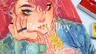 """""""Pretty Boy"""" Speedpaint"""