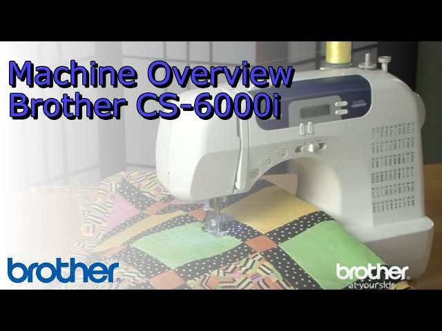 Brother CS40i Brother CS40i Computerized Sewing Machine Interesting Brother Sewing Machine Cs 6000