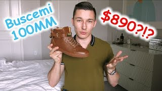 Buscemi 100MM Review and Unboxing!