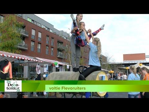 VIDEO | Nederlands kampioene Dorien Luteijn promoot voltigesport op Meerpaalplein