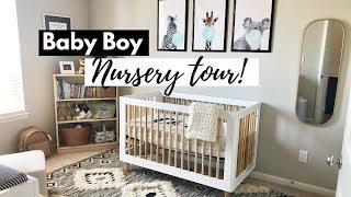 NURSERY TOUR!   Neutral Theme for Baby Boy