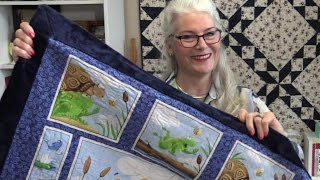 How to Sew a Quick Baby Quilt with No Batting