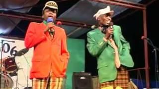 Zambian Comedy Bikkilon & Diffikoti Visit Ndola