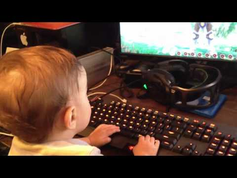 They're Never Too Young To Start PC Gaming