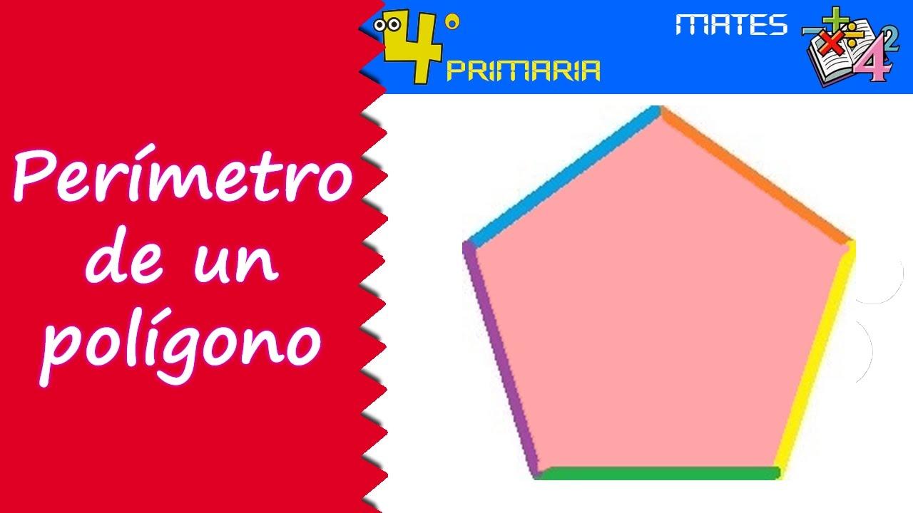 Matemáticas. 4º Primaria. Tema 5. Perímetro de un polígono