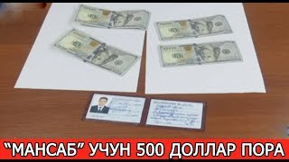 """МАНСАБ"" УЧУН 500 ДОЛЛАРЛИК ПОРА"
