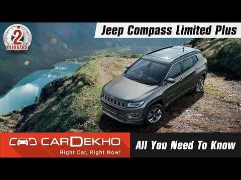 """Jeep Compass Limited Plus 