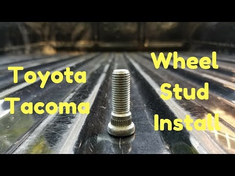 Toyota Wheel Stud Replacement | Tacoma 4Runner T100 Tundra